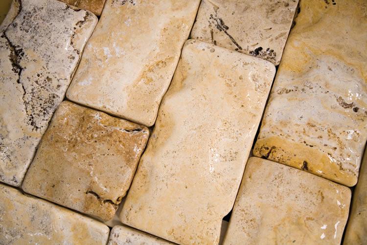 On dise o productos travertino macael amarillo de for Marmol travertino apomazado