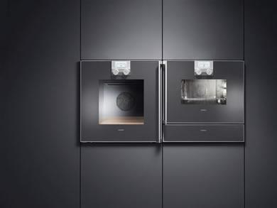 on dise o productos antracita de gaggenau. Black Bedroom Furniture Sets. Home Design Ideas