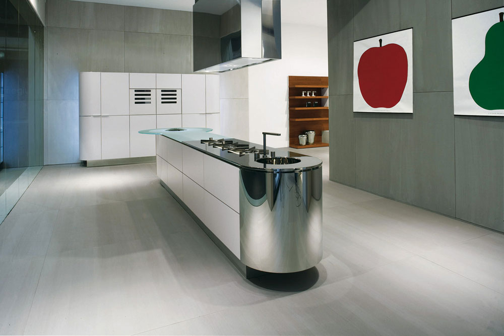 On Diseño - Products: Argento vivo by Ged Cucine