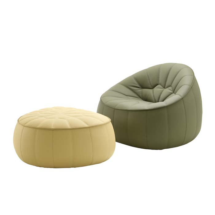 On Diseno Products Ottoman Outdoor By Ligne Roset - The-ottoman-from-ligne-roset