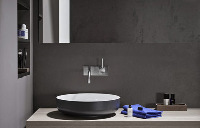 Lavabo Meridian Compacto.On Diseno Products Bicolor By Alape