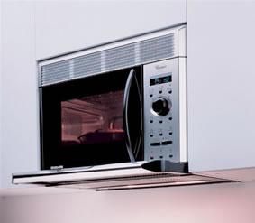 On dise o productos microondas avm 955 ix de whirlpool - Extractor integrado ...