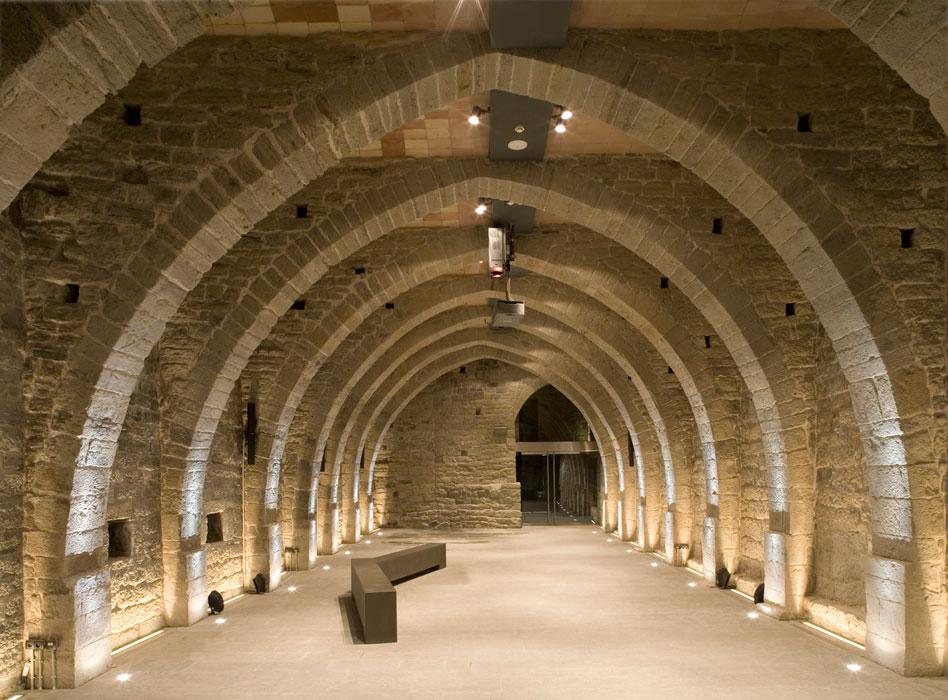 On Diseno Proyectos Monasterio De Sant Benet De Bages