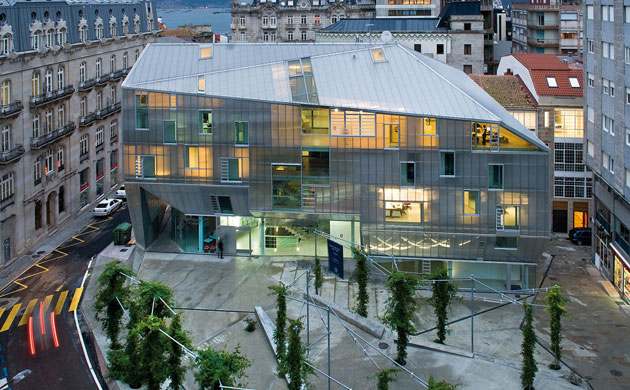 On dise o proyectos sede del colegio de arquitectos en vigo y urbanizaci n de la plaza del - Arquitectos en vigo ...