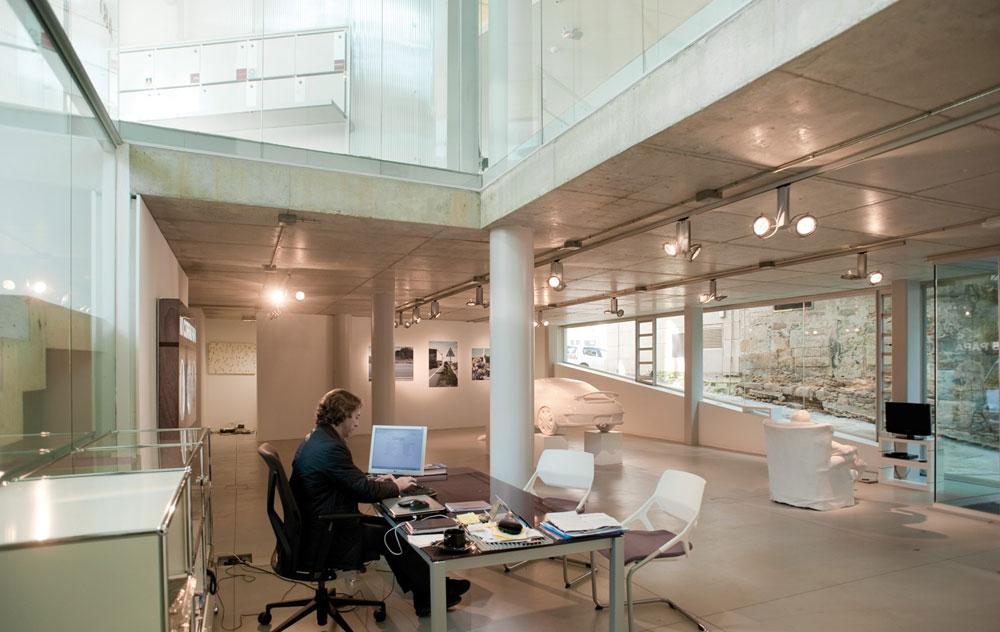 On dise o proyectos sede del colegio de arquitectos en vigo y urbanizaci n de la plaza del - Arquitectos vigo ...