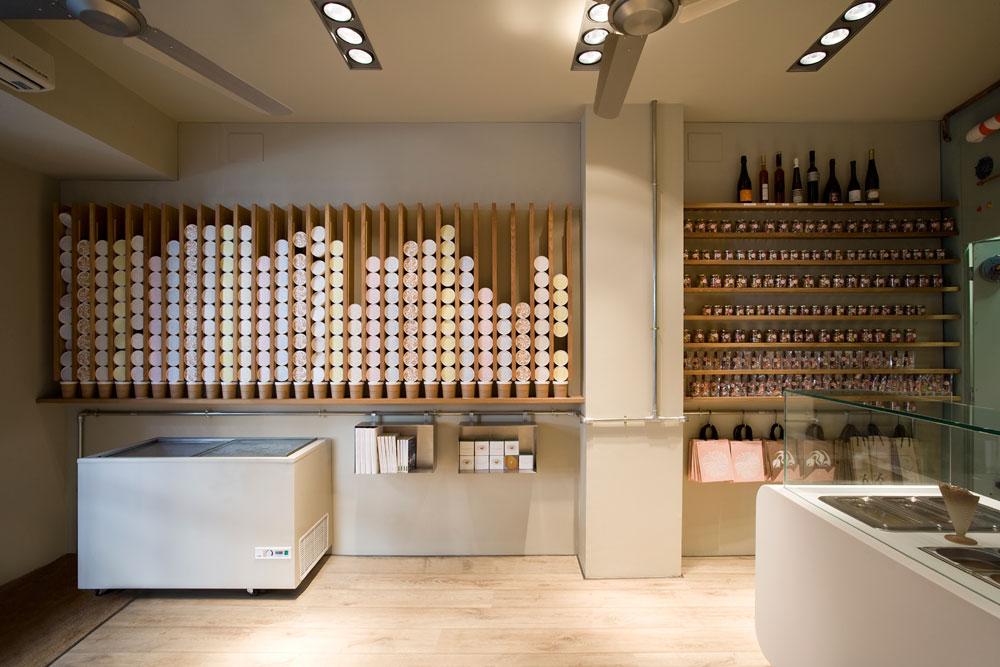 On Diseño - Proyectos: Heladería Rocambolesc en Girona