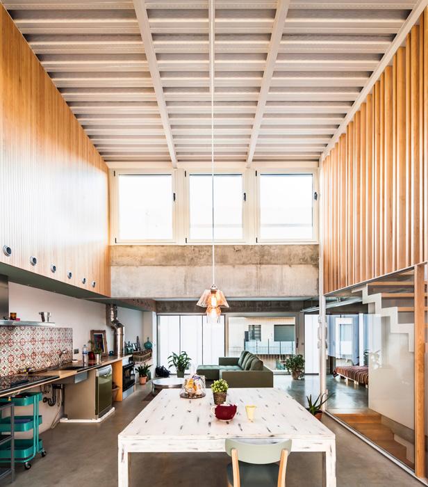 On dise o proyectos casa entre medianeras en granollers - Casas en granollers ...
