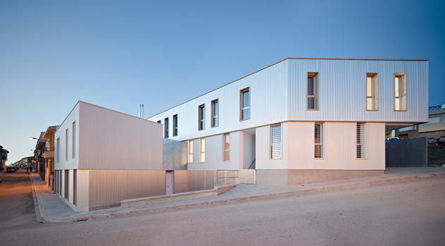 On dise o proyectos 12 viviendas sociales en alcal la real - Antonio daza alcala la real ...