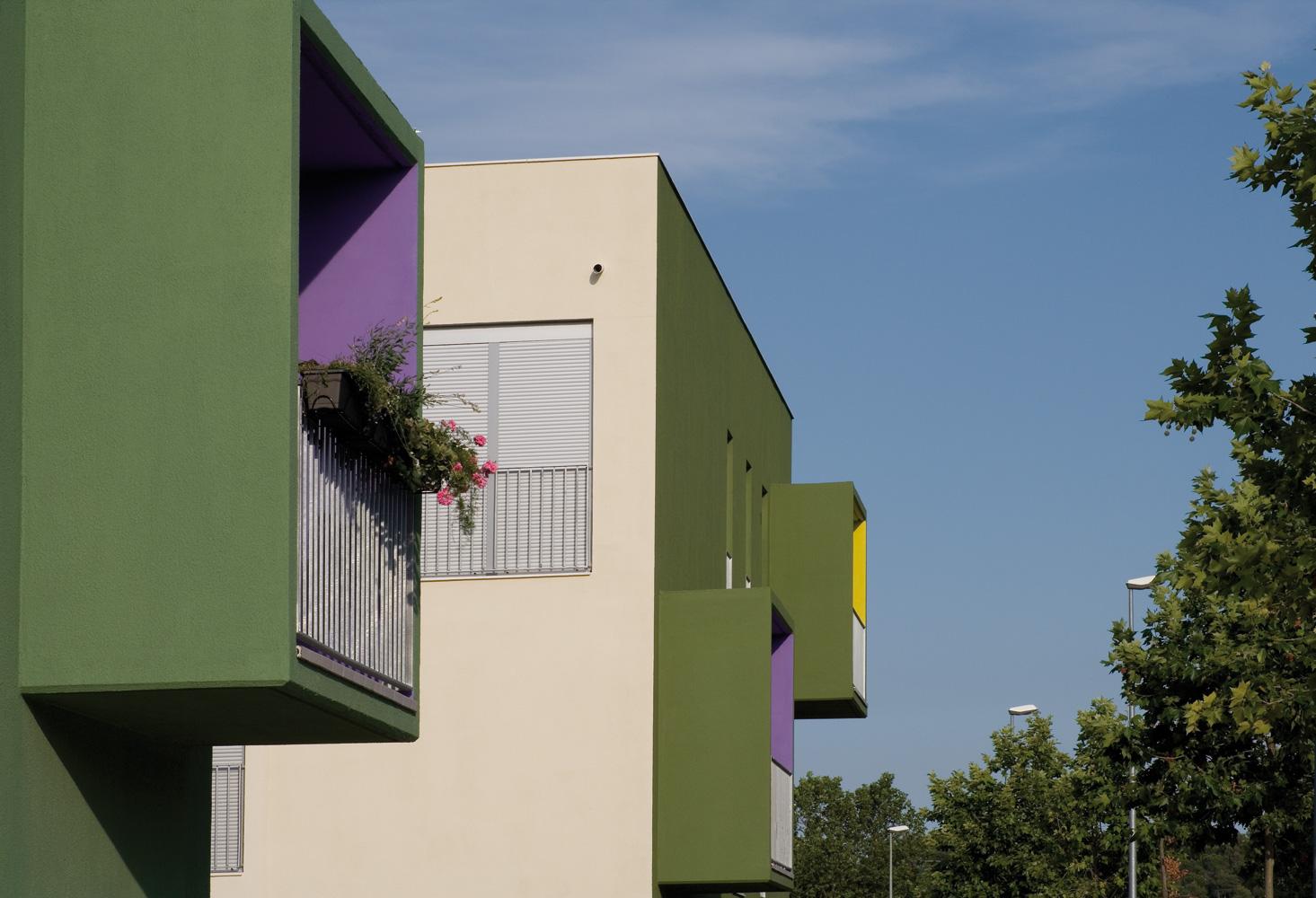 On dise o proyectos 33 viviendas sociales en begues for Diseno vivienda online