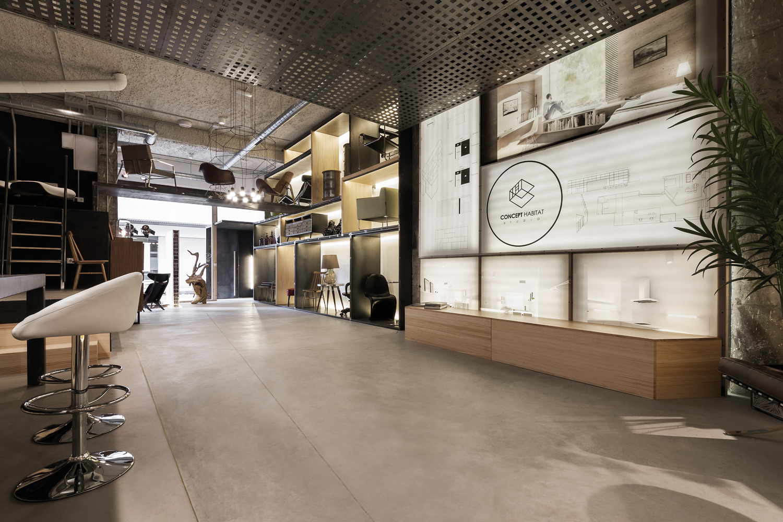 On dise o proyectos concept h bitat local comercial en - Arquitectos en pontevedra ...