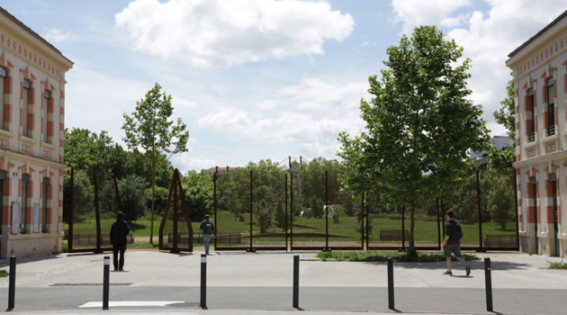 On dise o proyectos jard n niel for Jardin niel toulouse