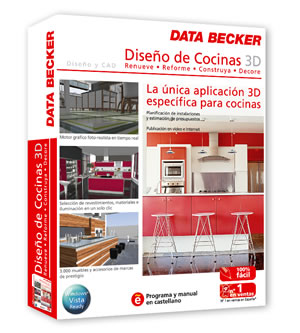 Data becker for Software cocinas 3d