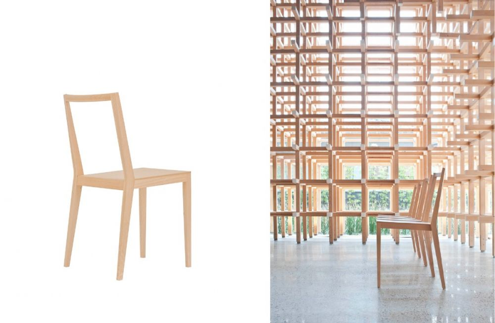 Kengo Kuma and the furniture that blends into the surroundings